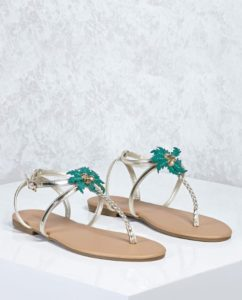 sandales palmiers forever21