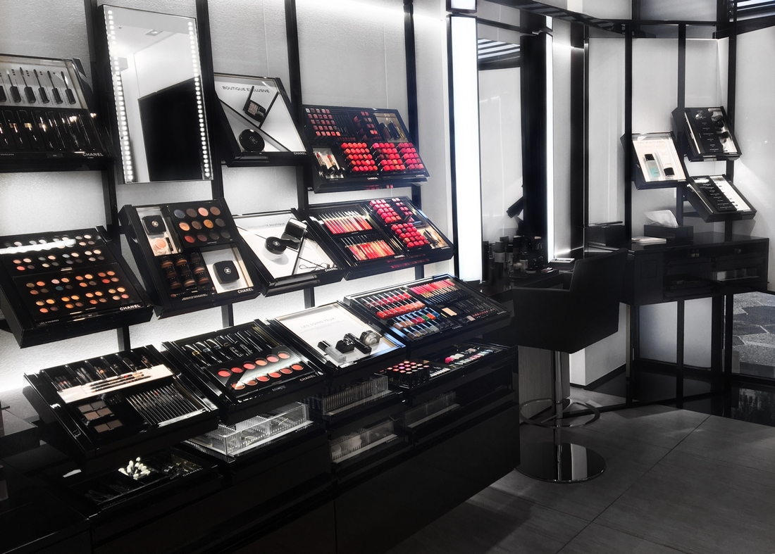 maquillage exclusif chanel boutique beauté à nice