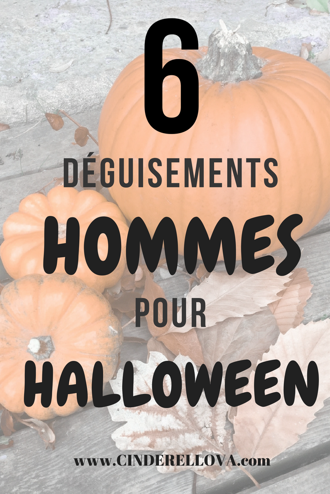 8 deguisement homme halloween