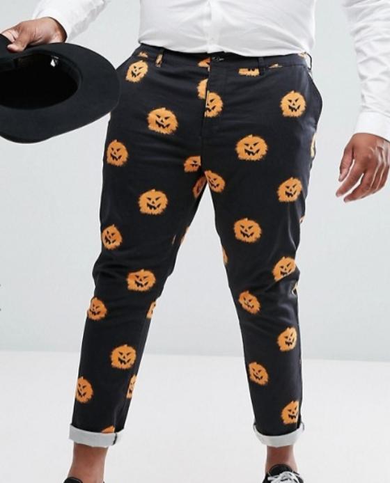 pantalon halloween homme citrouille 2017