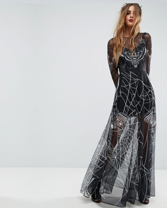robe sorciere halloween 2017