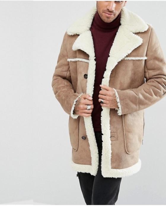 manteau mouton homme black friday