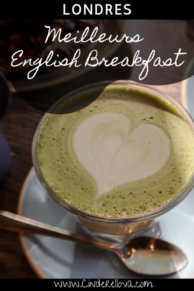 meilleur english breakfast londres