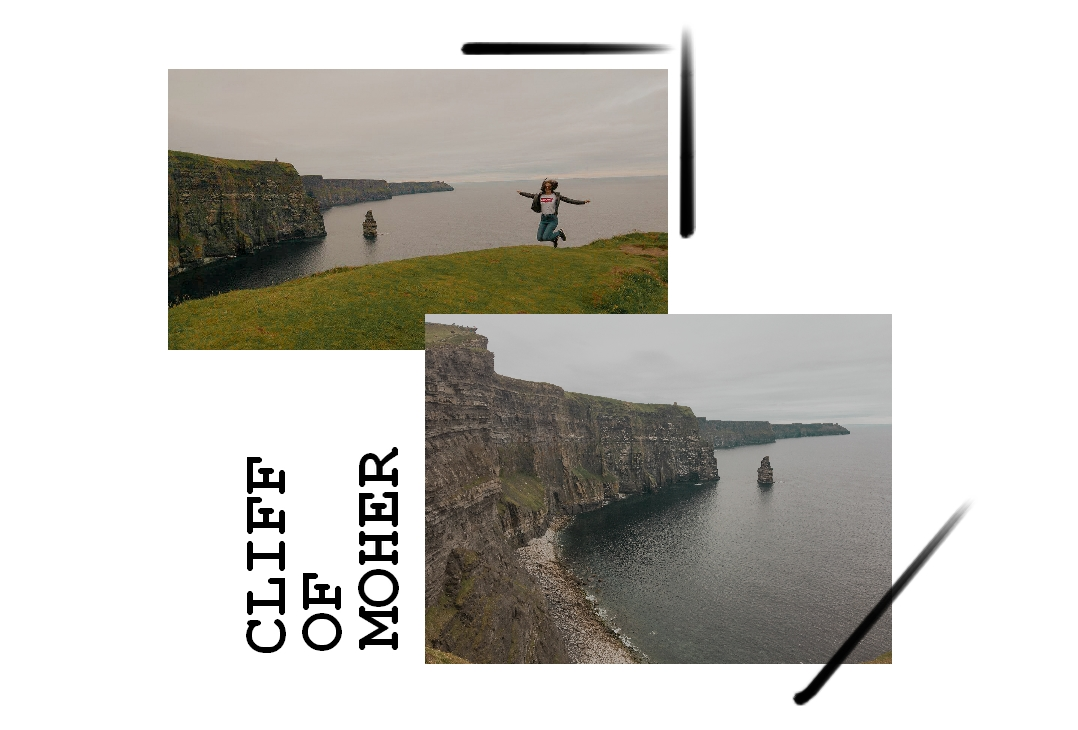Falaise de moher irlande blog