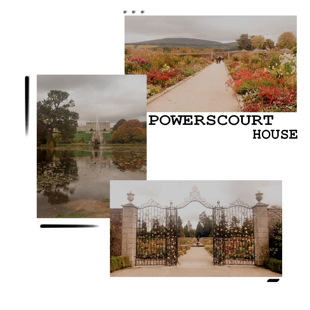 powerscourt house wiclow dublin irlande