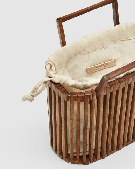 sac bois tendance printemps 2018