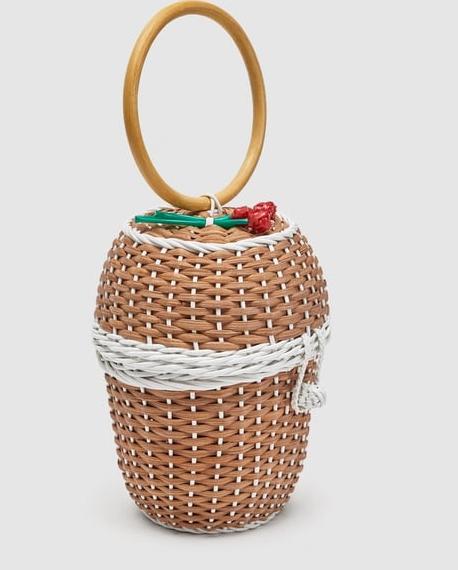 sac osier tendance original zara