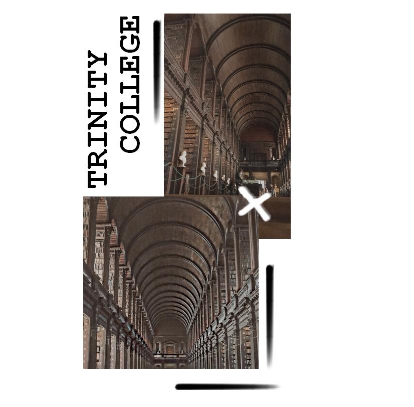 trinity college arnaque bibliotheque dublin