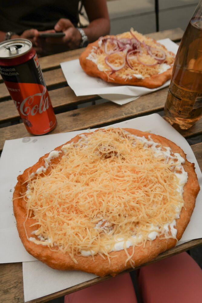 langos budapest street food