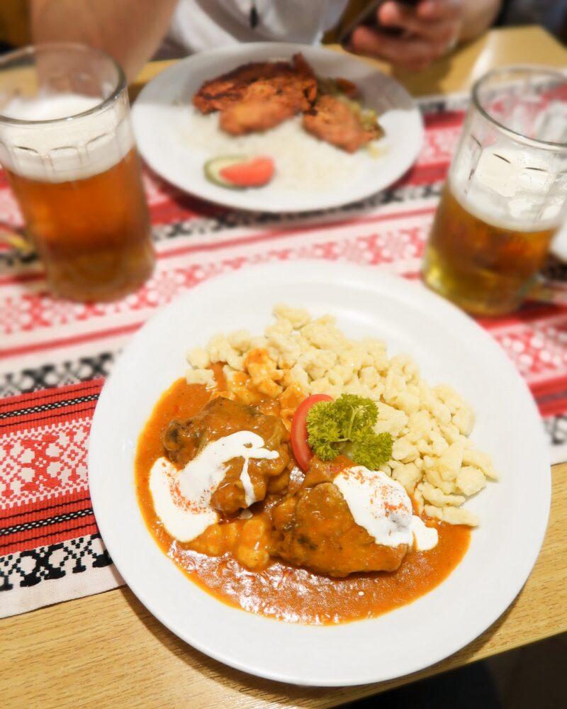 restaurant typique hongrois budapest centre