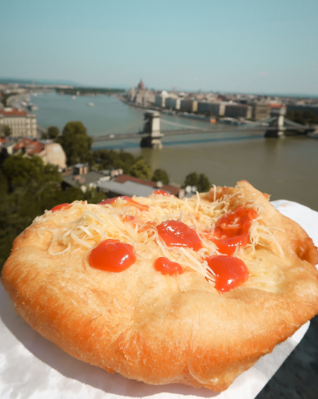street food budapest langos specialite