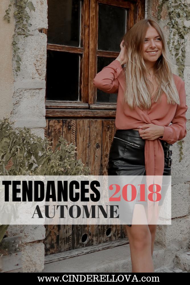 tendances mode accessoires automne 2018