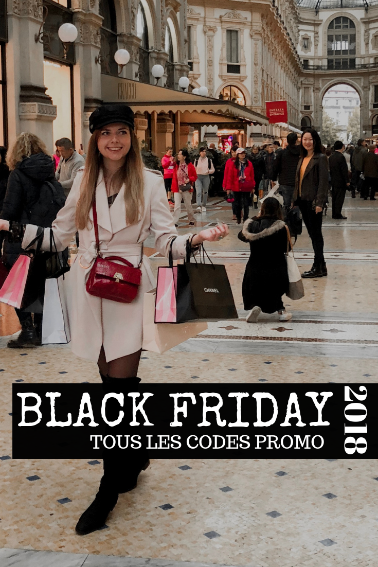 BLACK FRIDAY 2018 CODE PROMO
