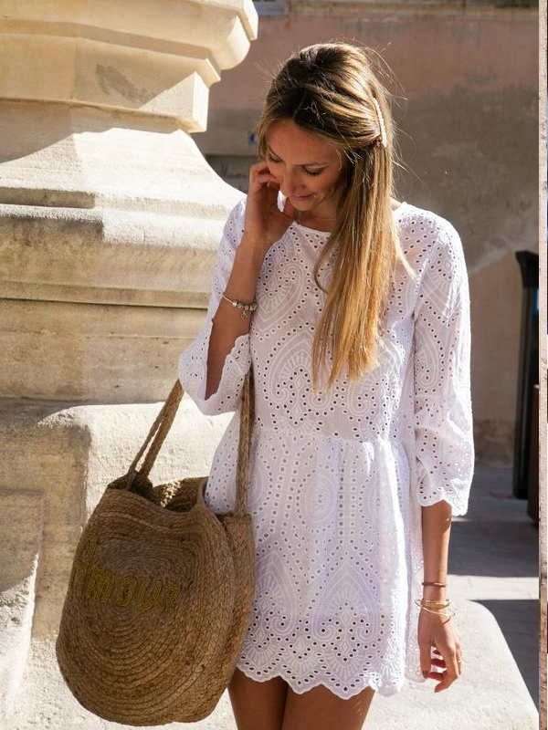 robe broderie anglaise modeinelo