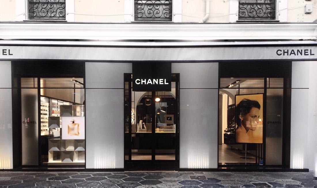 boutique chanel beaute à nice place magenta cinderellova