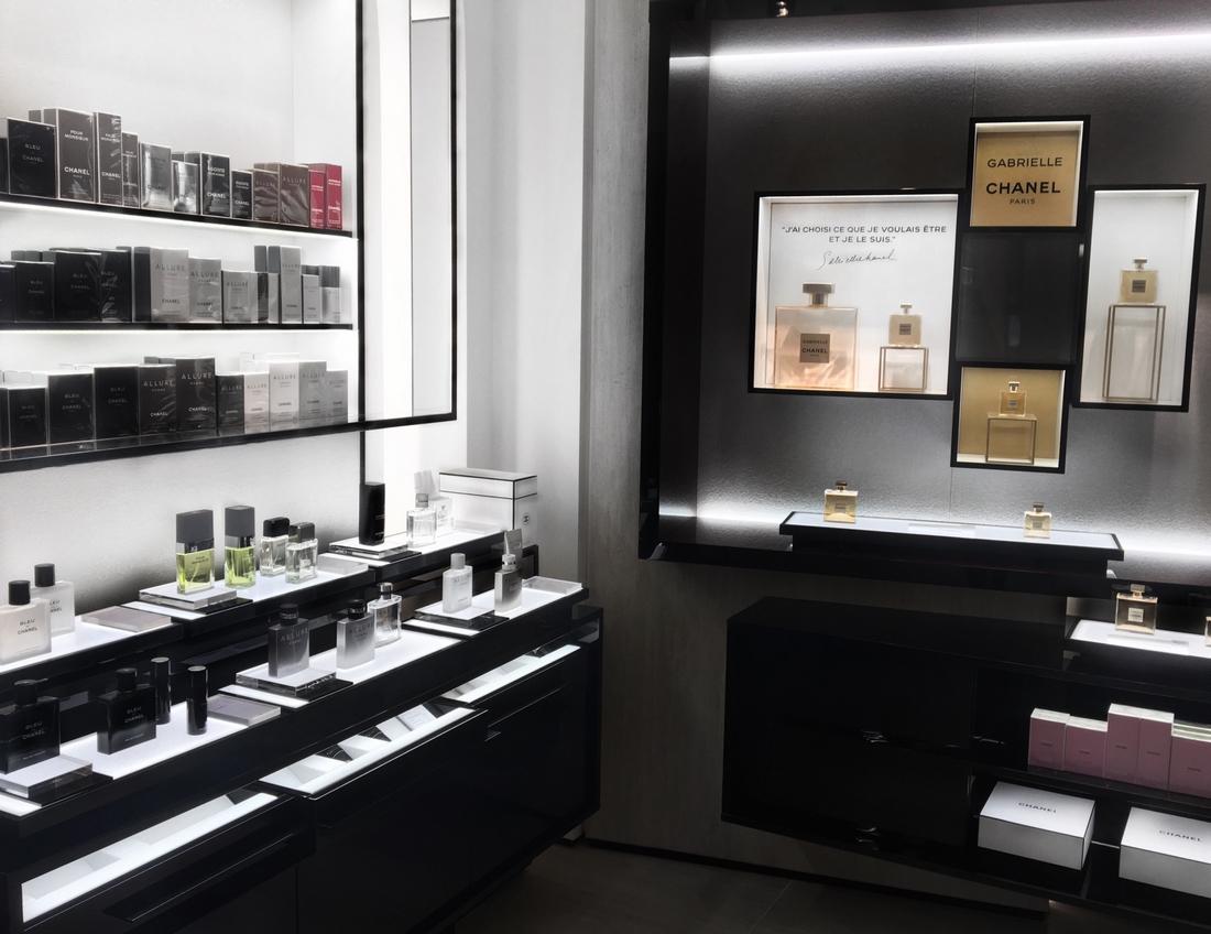 Nouveau parfum gabrielle chanel nice boutique