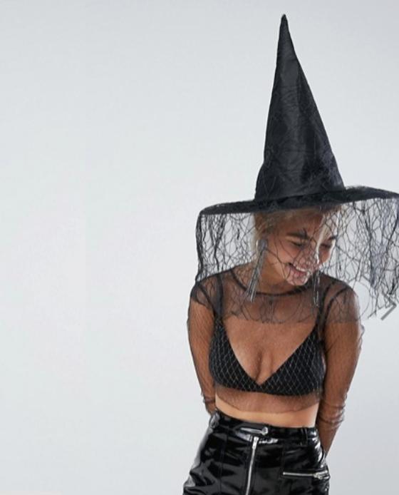 chapeau sorciere halloween 2017