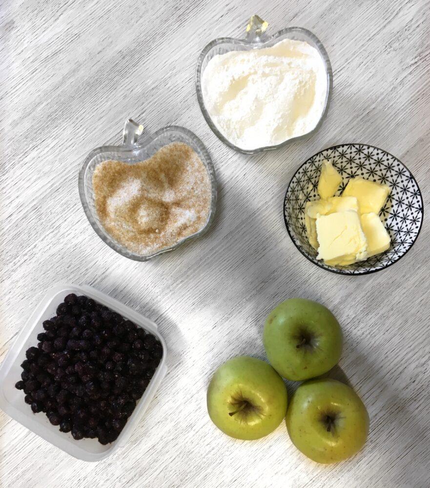 crumble pomme mytille recette automne