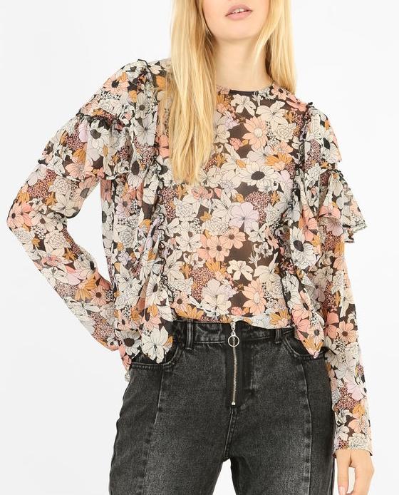 blouse fleurie pimkie black friday
