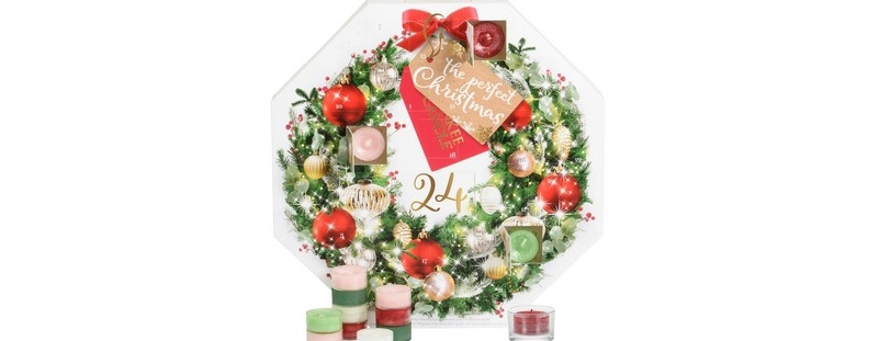 calendrier avent bougie yankee candle