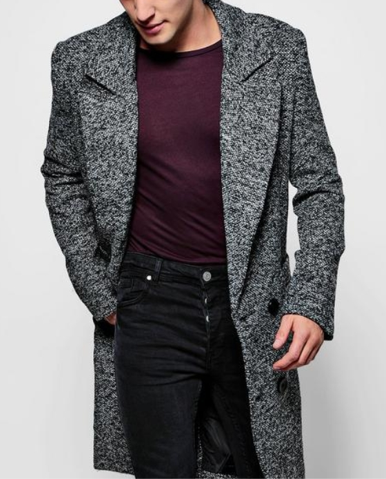 manteau homme boohoo black friday
