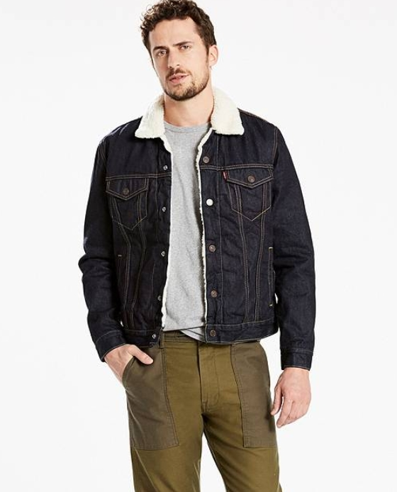 veste jean levis black friday
