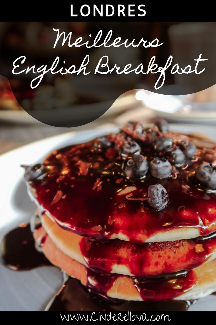 ou manger vrai english breakfast londres