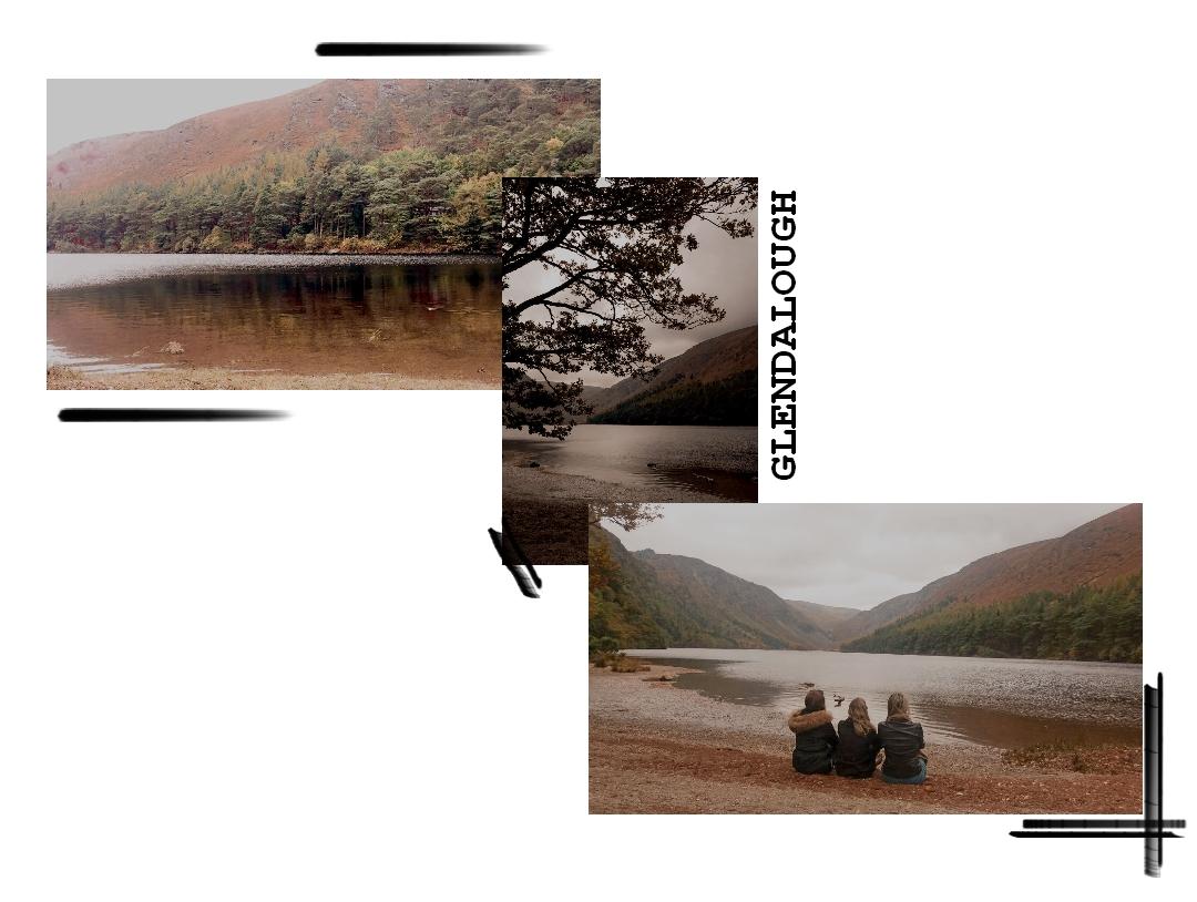 glendalough wicklow irlande dublin lac