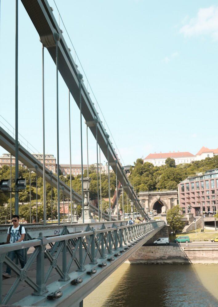 chain bridge pont celebre budapest