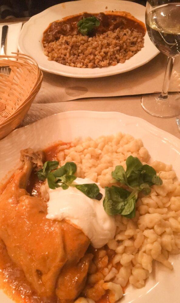 restaurant cuisine hongroise budapest