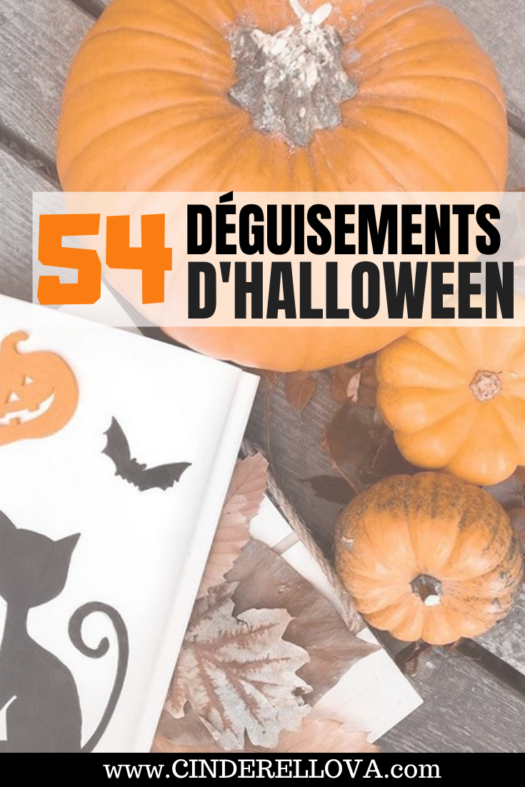deguisement halloween homme femme decoration