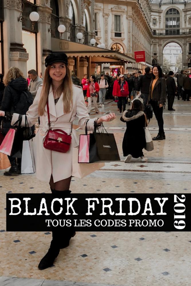 Black friday cyber week 2019 code promo