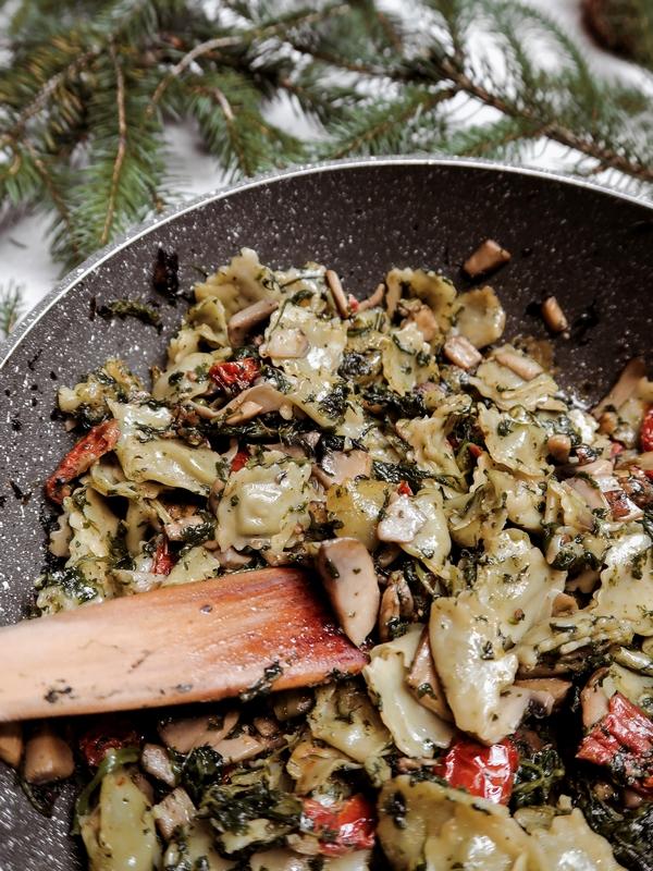 ravioles a poeler recette