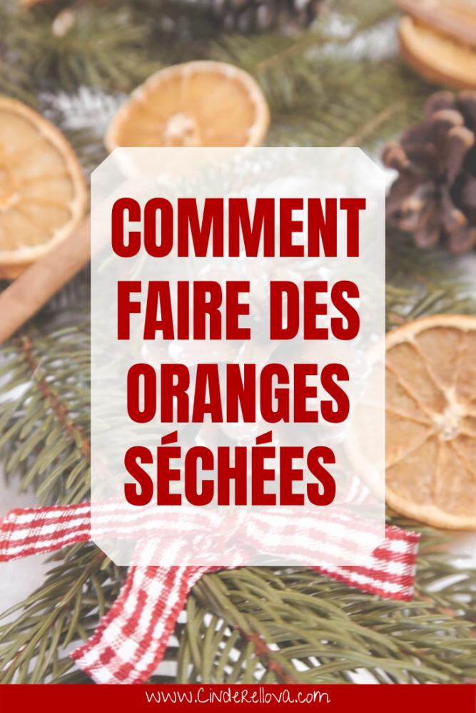 recette orange sechees