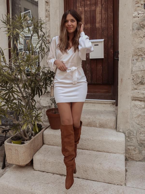 idée tenue cuissardes marrons blogueuse