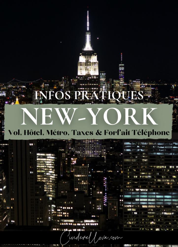 infos pratiques voyage new york